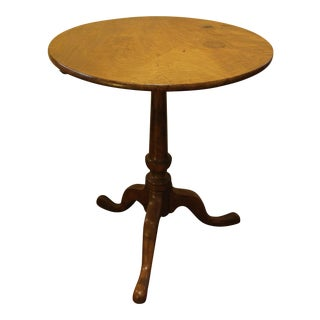 George III Tilt-Top Candlestand For Sale