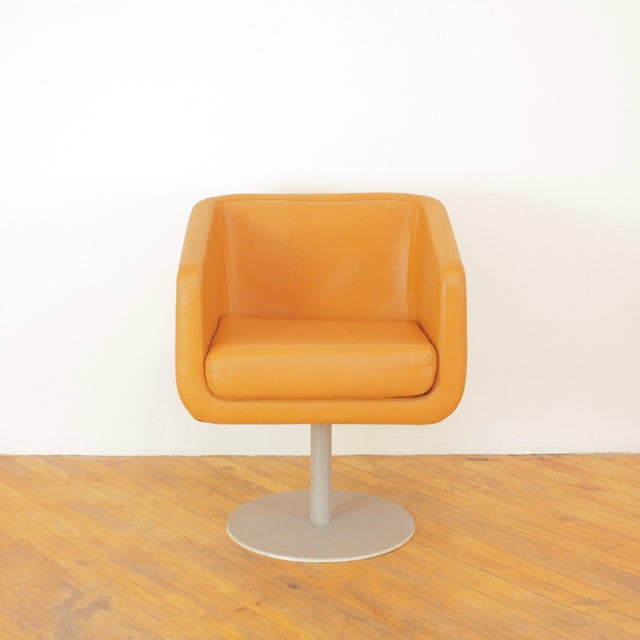 Late 20th Century Loewenstein Cube Swivel Chairs - a Pair For Sale - Image 4 of 11