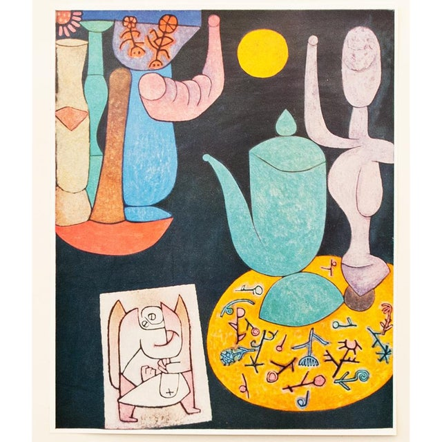 1958 Still Life Lithograph by Paul Klee For Sale