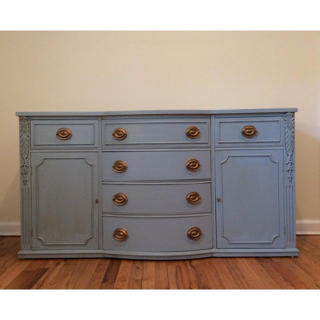 1940s Vintage Sideboard/Buffet For Sale - Image 11 of 11