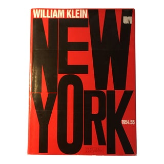 "William Klein ""New York"" 1954-1955 Coffee Table Photography Art Book For Sale"