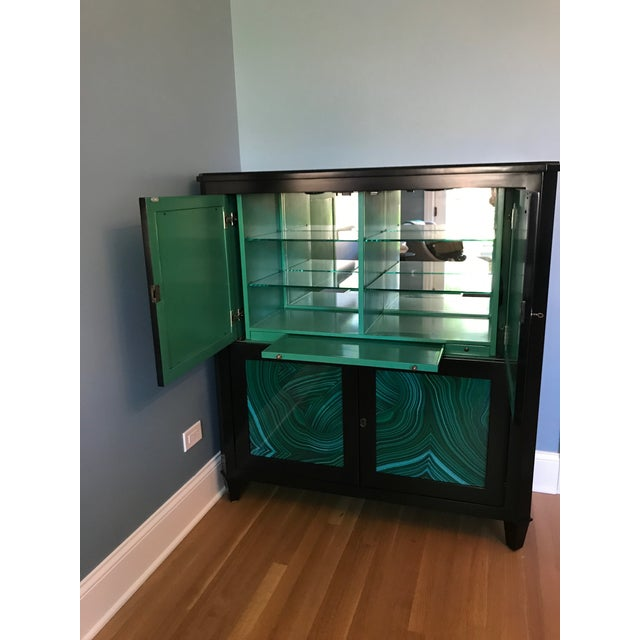 Contemporary Currey & Co Sinclair Bar Cabinet For Sale - Image 3 of 5