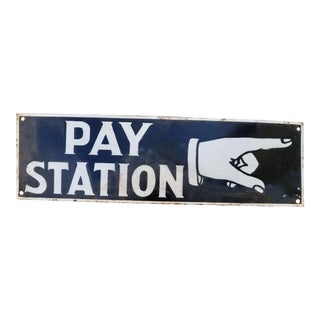 "New Orleans ""Pay Staion"" Sign"