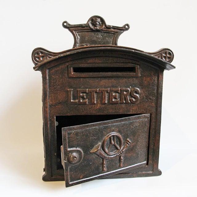 Antique Iron Mail Box - Image 3 of 5