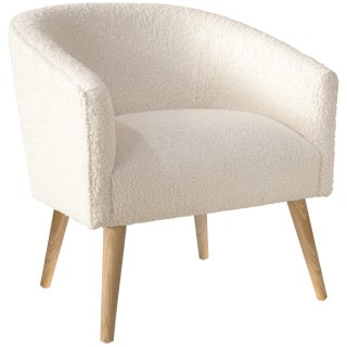 Deco Chair, Sheepskin Natural For Sale
