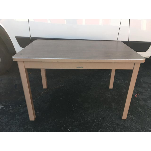 1960s Industrial McDowell and Craig Metal Writing Desk For Sale - Image 10 of 10