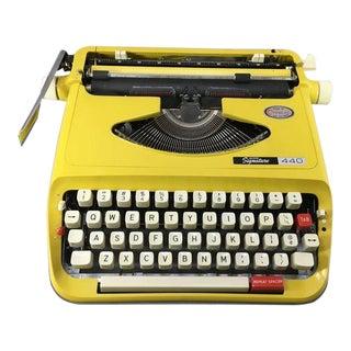 1960s Yellow Submarine Typewriter For Sale