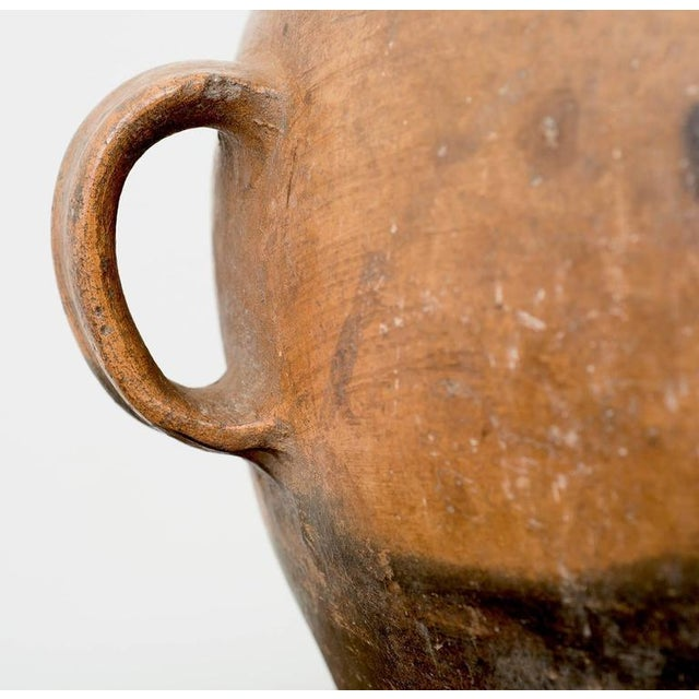 Mid 19th Century Large 19th Century Guatemalan Water Pot With Three Handles For Sale - Image 5 of 10