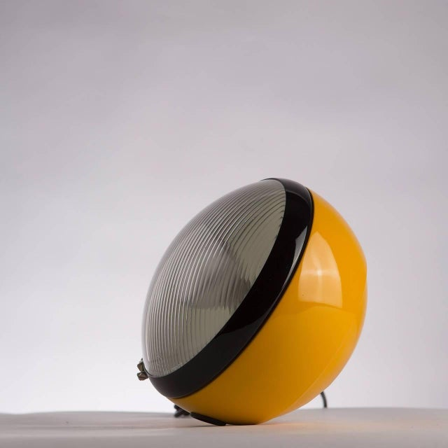 "Rare ""Bowling"" table lamp by Cesare Leonardi and Franca Stagi for Lumenform. Originally designed as a ready-made piece..."