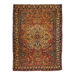 1880s Vintage Ferahan Sarouk Rug For Sale