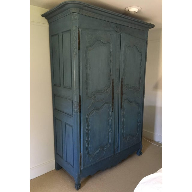 French French Louis XV Period Armoire, Circa 1780 For Sale - Image 3 of 5