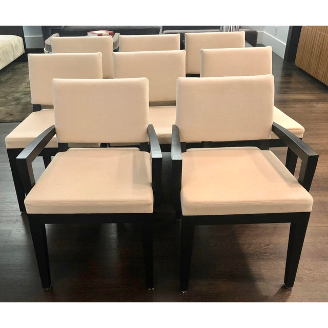 Modern Desiron Dining Chairs - Set of 8 For Sale - Image 10 of 10