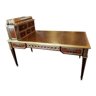 19th Century Louis XVI Style Desk by Paul Sormani For Sale