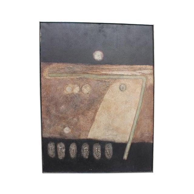 "Denyll Darius ""Soul Birds"" Painting - Image 1 of 11"