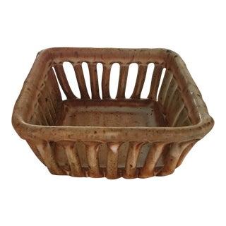 Cohen Pottery Organic Modern Basket