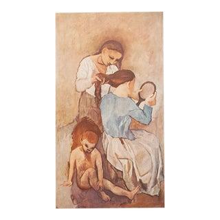 """1950s Picasso """"La Coiffure"""" Original Period Lithograph For Sale"""