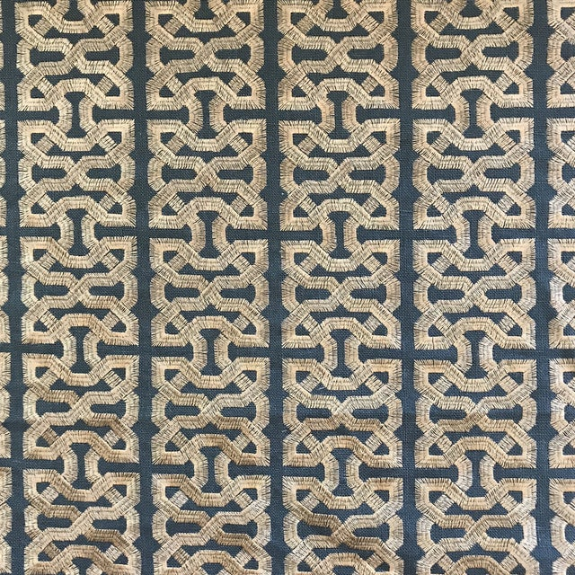 Kravet Couture Barbara Berry Ceylon Key South Seas Fabric - 12 Yards For Sale