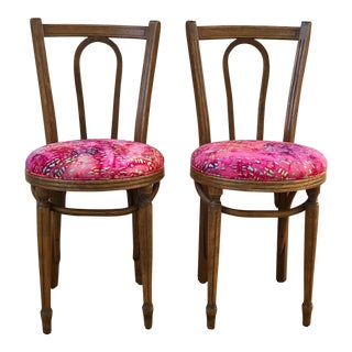 Cafe Flore Bistro Chairs - a Pair