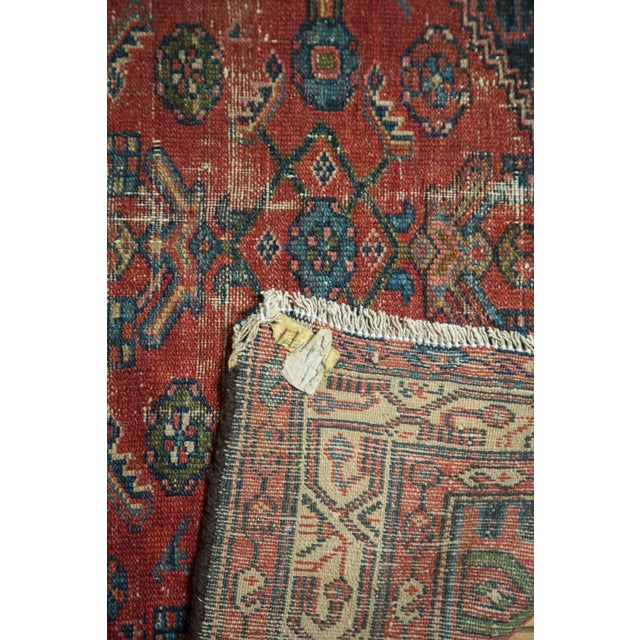 "Vintage Malaye Runner - 3'4"" X 6'9"" For Sale - Image 9 of 9"