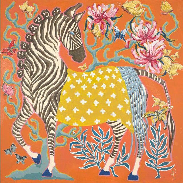 Zebra Print by Paige Gemmel For Sale