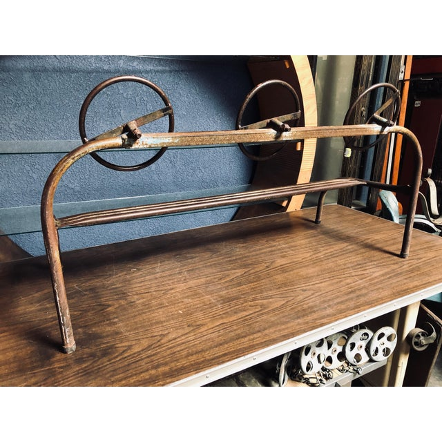 Amazing Children's Vintage Hand-Bent Hand-Welded Metal Old School Playground Toy For Sale - Image 9 of 11
