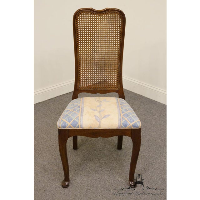 Traditional Late 20th Century Vintage Davis Cabinet Co. Cherry Dining Chair For Sale - Image 3 of 8
