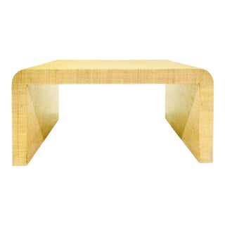 Waterfall Coffee/Cocktail Table by Harrison Van Horn For Sale