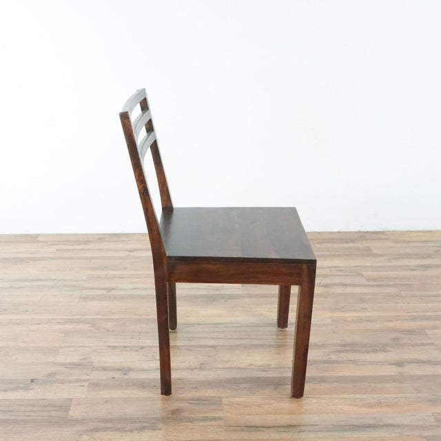 2010s Contemporary Monterey Crafts Justo Dining Chairs - a Pair For Sale - Image 5 of 7