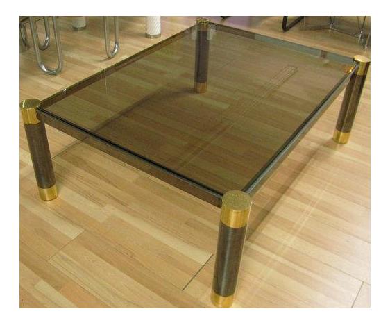 Karl Springer Cocktail Table For Sale
