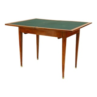 French Louis XVI Fruitwood Game Table For Sale