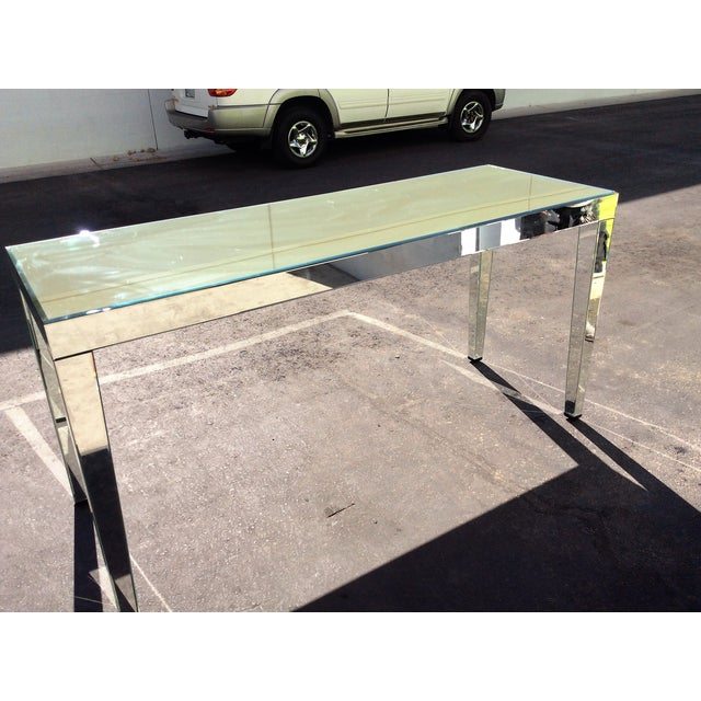 Large Beveled Mirror Hall Table - Image 2 of 7
