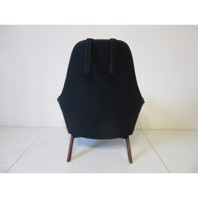 Adrian Pearsall 1960s Adrian Pearsall Upholstered Lounge Chair For Sale - Image 4 of 10