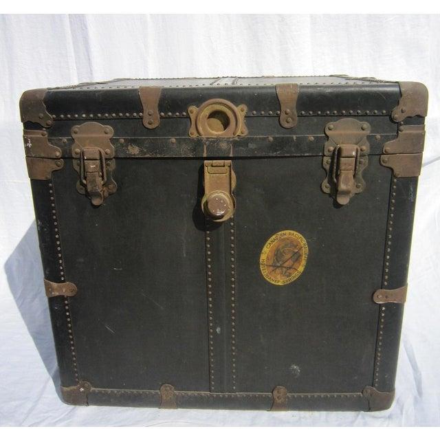 Vintage Steamer Trunk - Image 4 of 7
