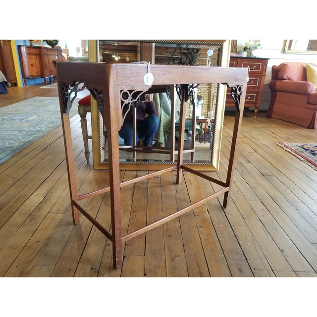 Chippendale Late 20th Century Chippendale Occasional Table From Waldorf Astoria For Sale - Image 3 of 8