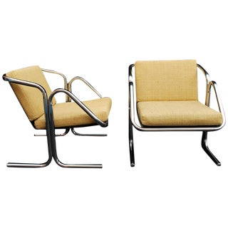 Jerry Johnson Chairs - a Pair For Sale