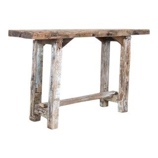 Antique Primitive Workbench For Sale