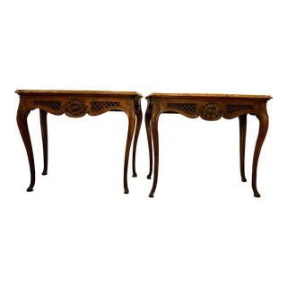 18th Century Italian Consoles a Pair For Sale