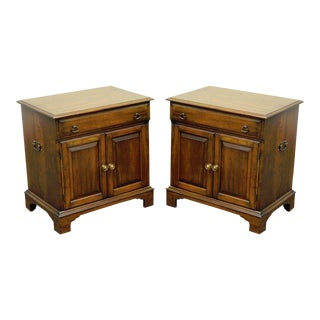 Pair of Pennsylvania Pa House Vintage Cherry Commodes Nightstands End Tables For Sale