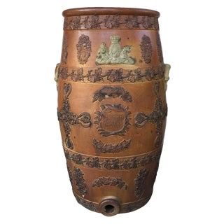 19th C. English Stone Water Cooler For Sale