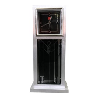 Vintage Frank Lloyd Wright Art Deco Clock for Bulova