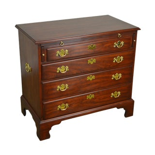 Henkel Harris Solid Cherry Chippendale Style Bachelors Chest For Sale