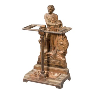 A 19th century Scottish cast iron stick stand For Sale