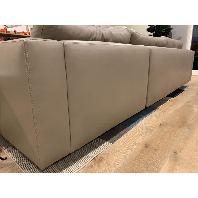 Design Within Reach Design Within Reach Reid Sectional Chaise For Sale - Image 4 of 8