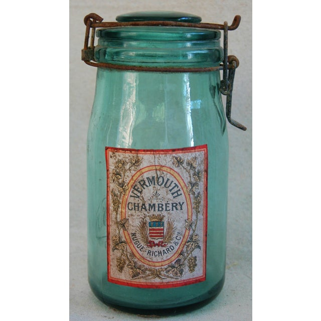 1930s French Labeled Canning Jars - Set of 3 - Image 5 of 6