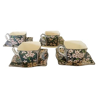 Royal Doulton Cups & Saucers - Set of 4