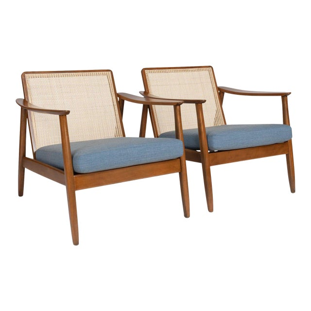 Pair of Folke Ohlsson / Dux Lounge Chairs For Sale