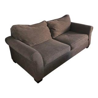 Pottery Barn Tweed Comfort Rollarm Sofa