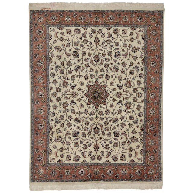 Contemporary Persian Style Rug With Traditional Style - 7′10″ × 10′3″ For Sale