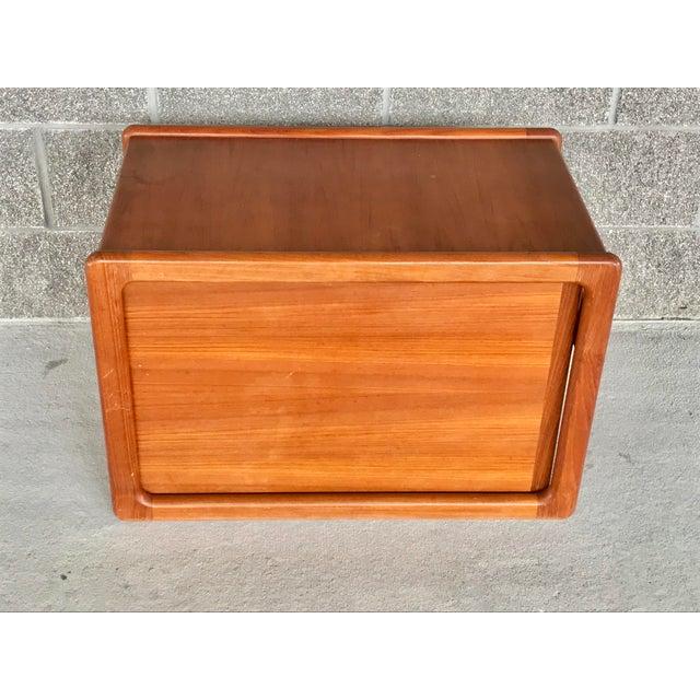 Danish Modern Wood File Cart For Sale - Image 9 of 9