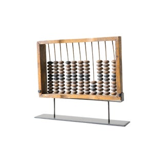 Vintage Abacus Mounted on Frame For Sale
